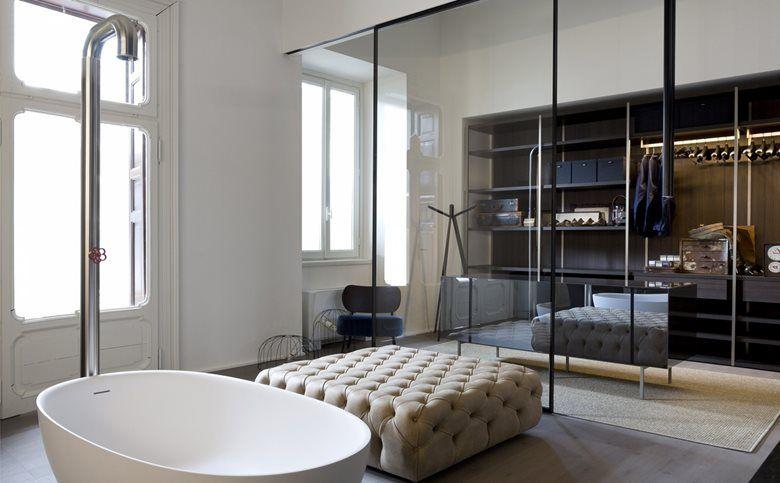 Appartamento BoffiDe PadovaMA/U Studio Интерьер ванной