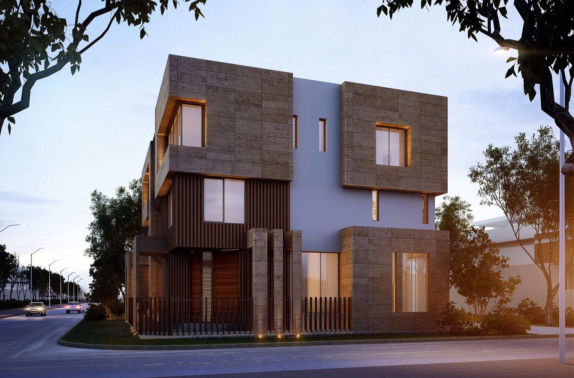 1000 Plot Private Villa Kuwait Sarah Sadeq Architects