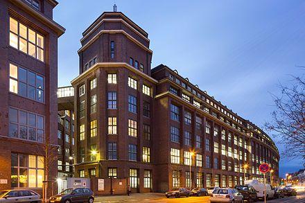 Hannover Vahrenwald Factory Building Continental Ag Contitech Vahrenwalder Strasse Philipsbornstrasse Hanover Germany Hannover Hanover Germany Duisburg