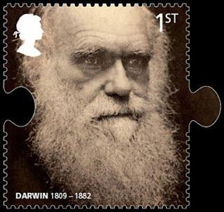 Darwin Charles 1809 1882 Timbre Postal Billet De Banque Biologiste