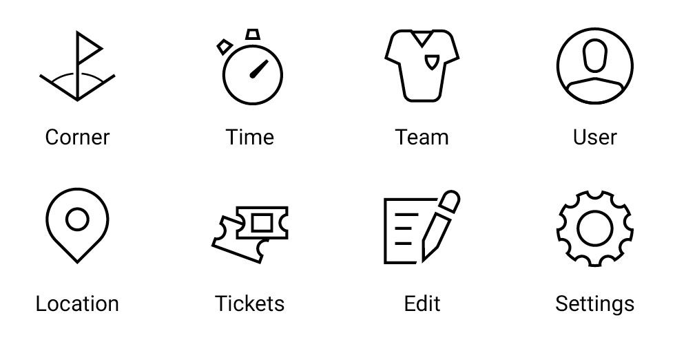 iconwerk. Custom icon system design for your next project