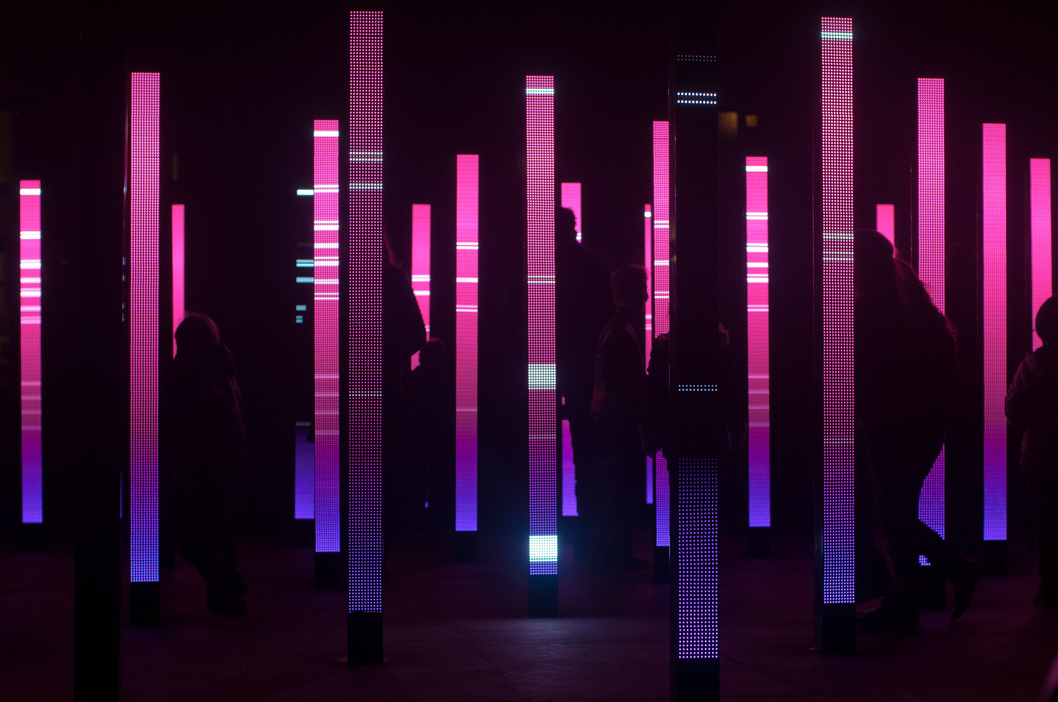 reflector art - Google Search | Highways and Byways | Pinterest ... for Led Light Installation Art  111ane