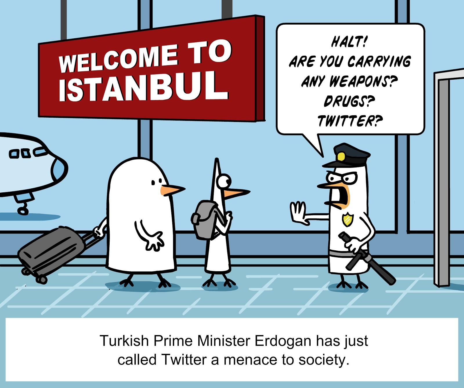 Turchia, Morsa Del Governo Sulla Libertà Di Stampa | Voci Globali