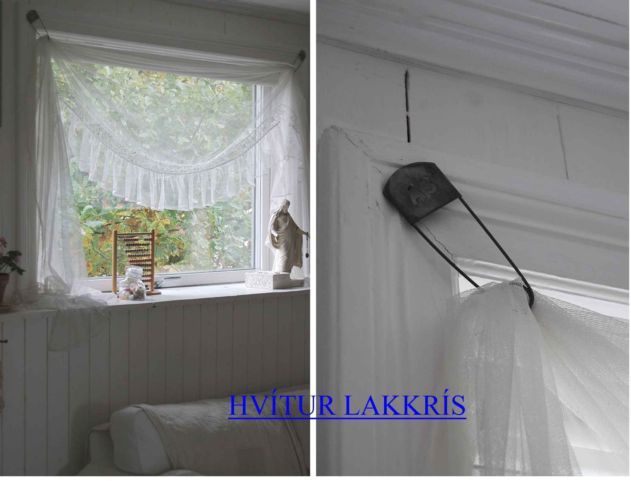 Curtains Rods Diy Idea Whitewashed Chippy Shabby Chic French