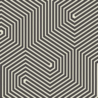 Labyrinth++(93/5018)+-+Cole+&+Son+Wallpapers+-+An+intricate,+geometric+labyrinth+design.+Shown+here+in+black+and+white.+Paste+the+wall+product.+Please+order+a+sample+for+true+colour+match.