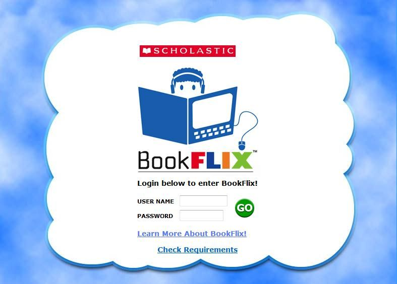 Book Flix (need username and password) | Assistive Tech-Spec