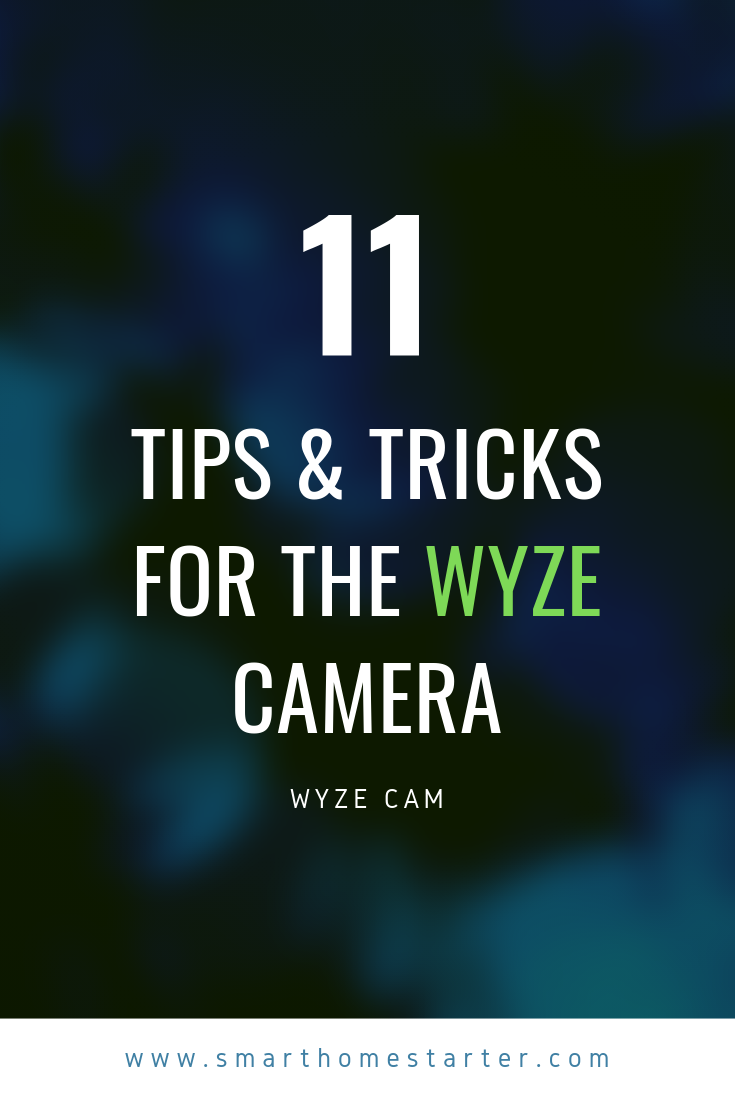 Tips and tricks for the Wyze cam plus how the SD card works