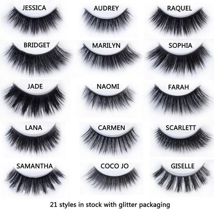 c5273316b97 Luxe Mink Eyelashes - 11 Styles #beautymakeup | Beauty Makeup ...