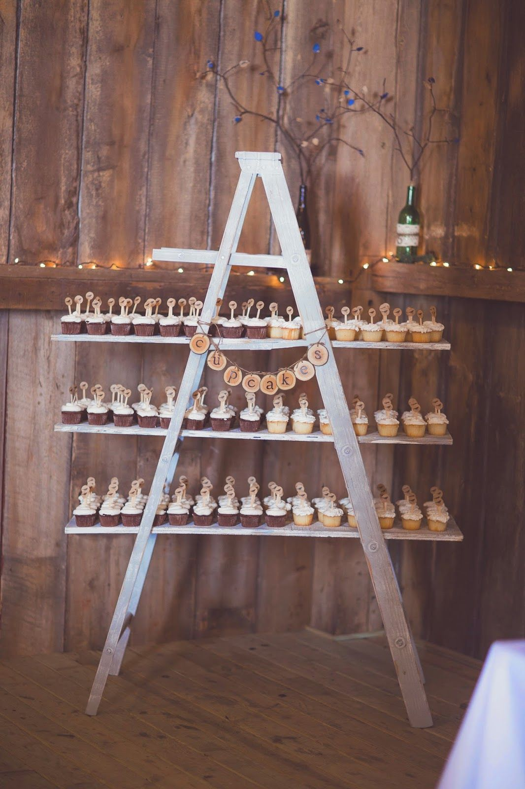 Diy Backdrop Stand For Dessert Table Cupcake Ladder Display Signed By Soden The Best Day
