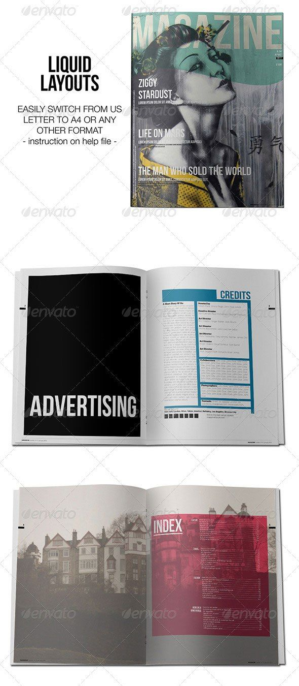 95+ Best Magazine Templates - Photoshop PSD and InDesign
