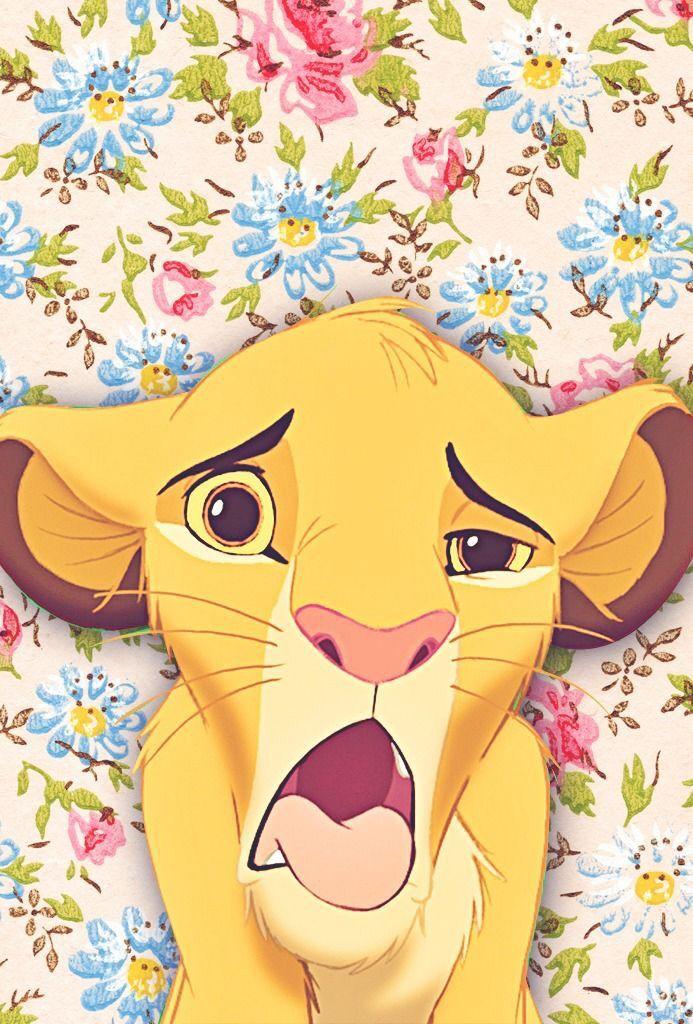 Simba Background Disney Wallpaper Disney Phone Wallpaper Wallpaper Iphone Disney