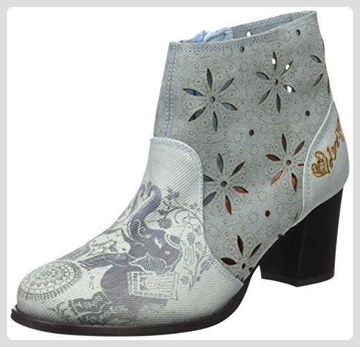 Chelsea 5098 Blau Desigual Boots Damen EU 40 Blue Cris Jeans xvxnt1g