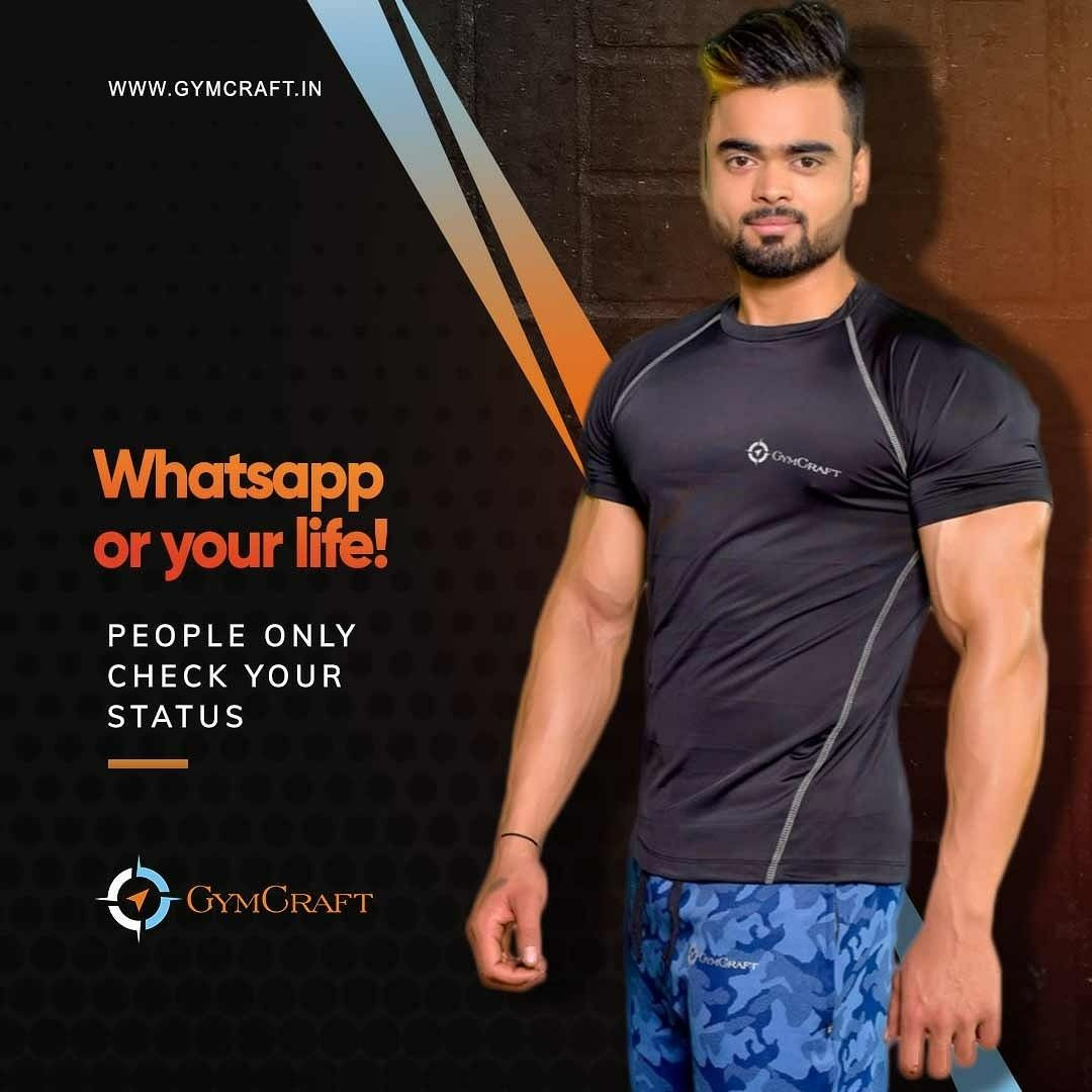 All progress takes place outside the comfort zone But never compromise the comfort of body #GymCraft  . . #gymcraftindia #nextlevel2fitness #Fitness #Instafit #Getfit #Fitspiration #Fitnessaddict #Fitnessmotivation #Fitnesslife #Fitnesslifestyle #Fitnessgoals #Fitnessfreak #Fitnessfreaks #Fitnesstips