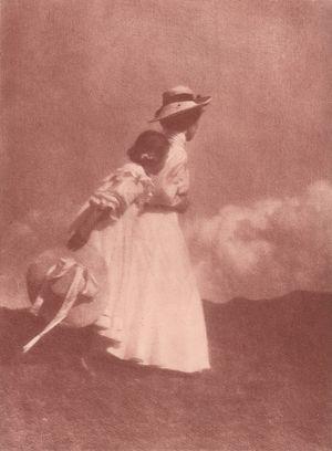 Heinrich Kühn. Little trip, 1908