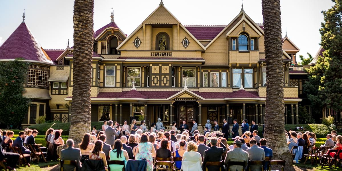 winchester mystery house weddings price out and compare wedding rh pinterest com