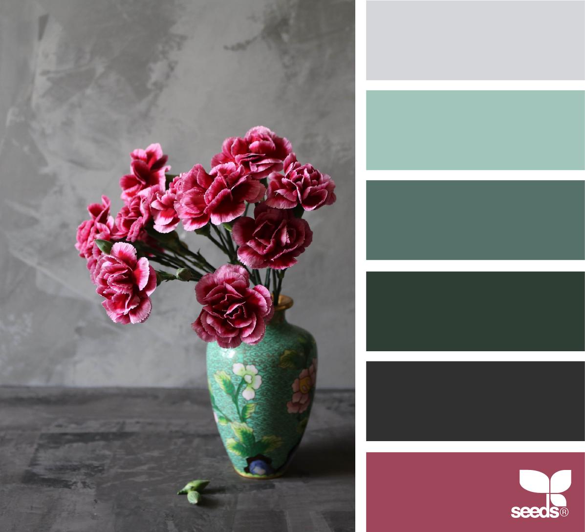 { flora palette } image via: @thediaryofdi
