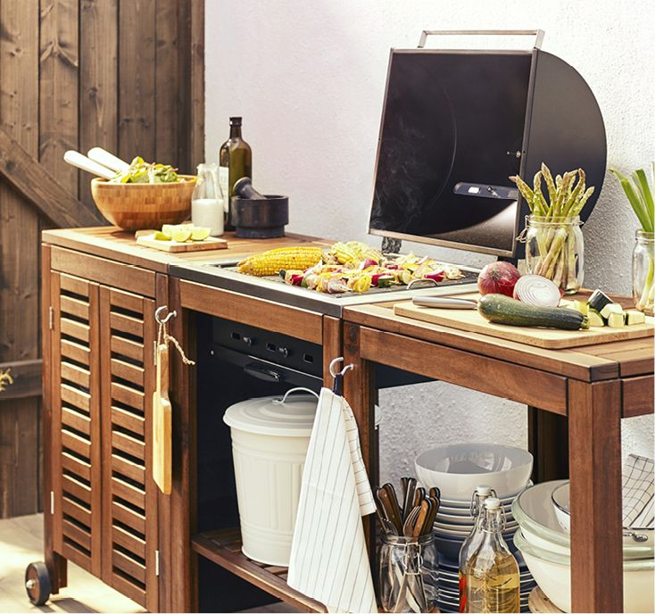 a pplar klasen grill filled with vegetables apartment pinterest grilling backyard and. Black Bedroom Furniture Sets. Home Design Ideas