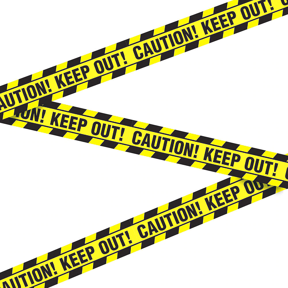 Caution Keep Out Tape | Party City