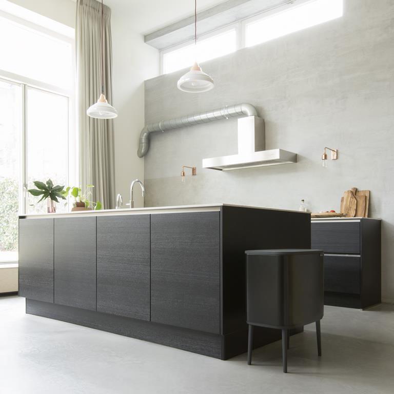 Brabantia Bo Touch Bin Afvalemmer 34 Liter 11 23 Liter Keuken Inspiratie Huis Interieur Keuken