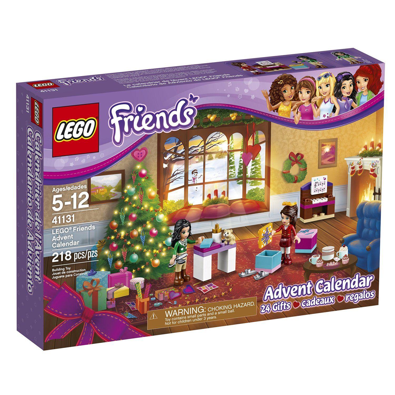 Lego friends advent calendar building kit piece u off