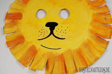 Maske selber machen zum Fasching im Kindergarten