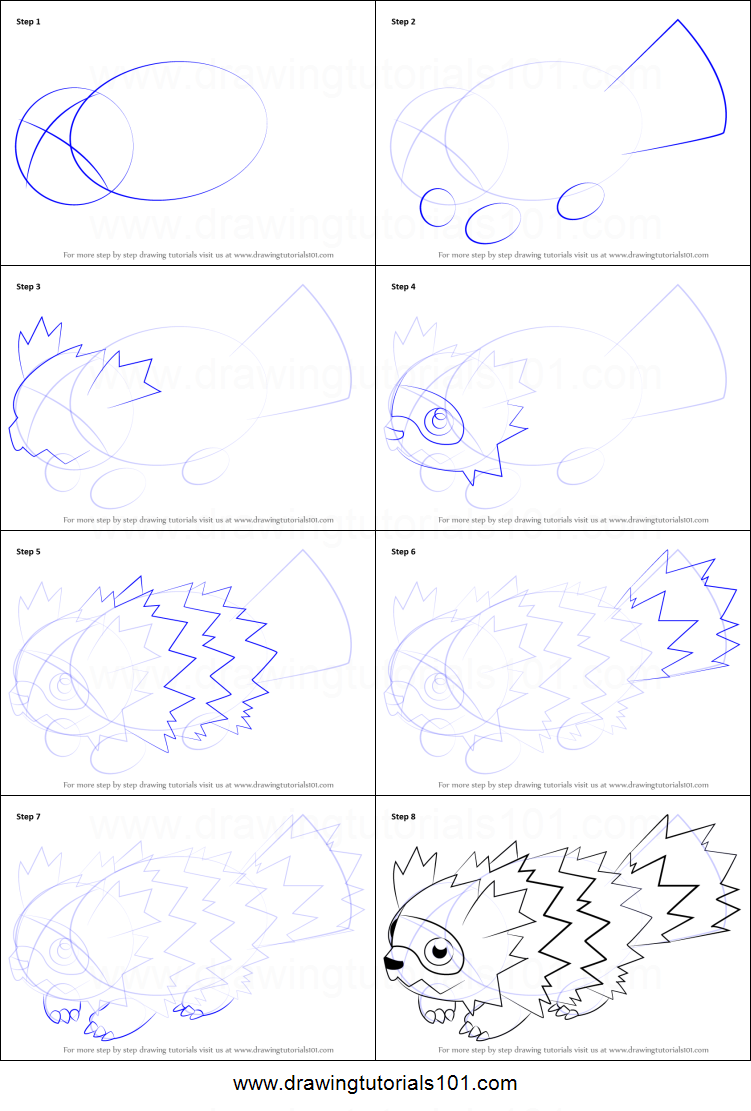 How To Draw Zigzagoon From Pokemon Printable Step By Step Drawing Sheet Drawingtutorials101 Com Drawing Sheet Easy Pokemon Drawings Pokemon