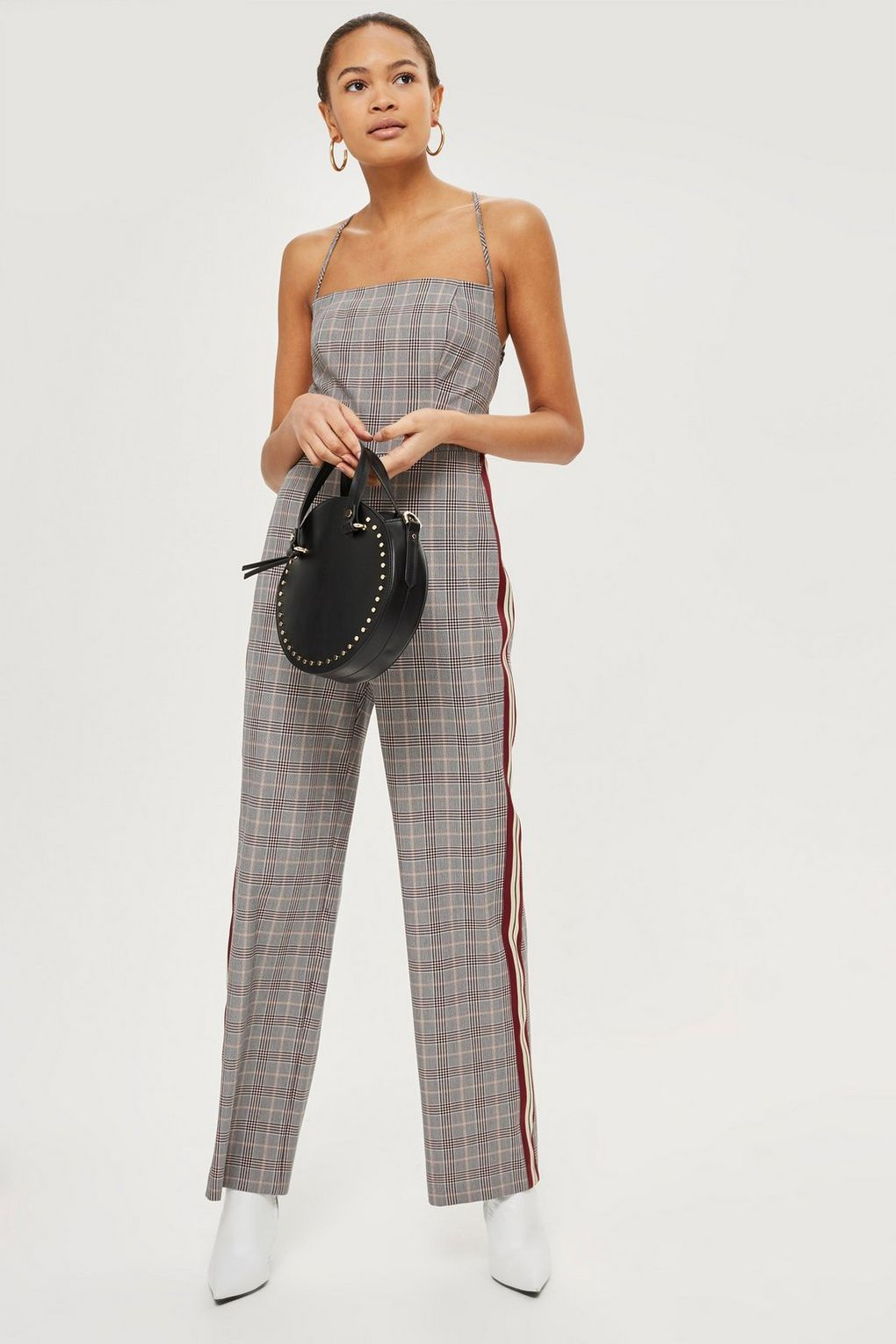 b6774917f80 Checked Jumpsuit - Topshop USA