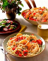 Angel Hair Pasta With Shrimp And Basil Recipe Matcher Food