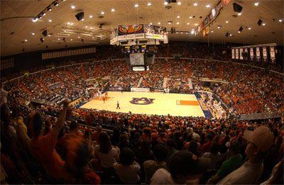 Auburn University S Beard Eaves Memorial Coliseum Auburn University Southeastern Conference Auburn
