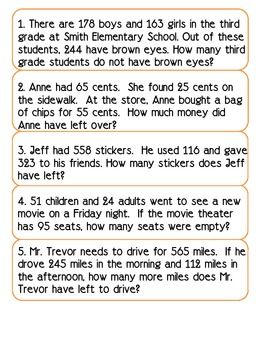 Word Problems Solving For The Unknown Math Word Problems Word Problems Word Problems 3rd Grade