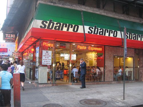 Image result for Sbarros in NYC