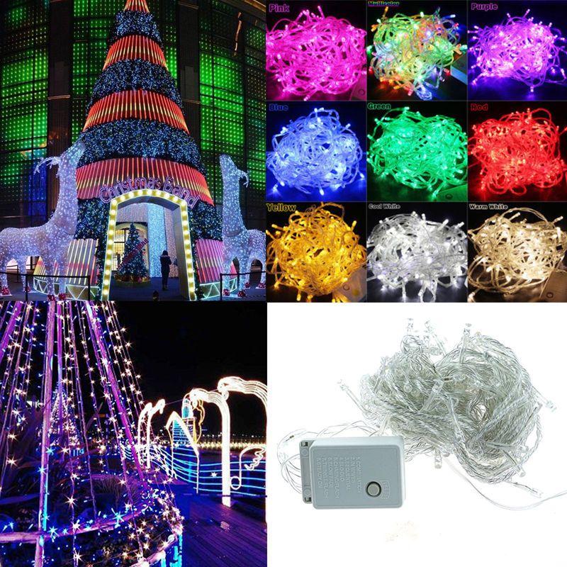 $1 - 10/20/50M 100/200/500Led Bulbs Party Christmas Holiday Decor