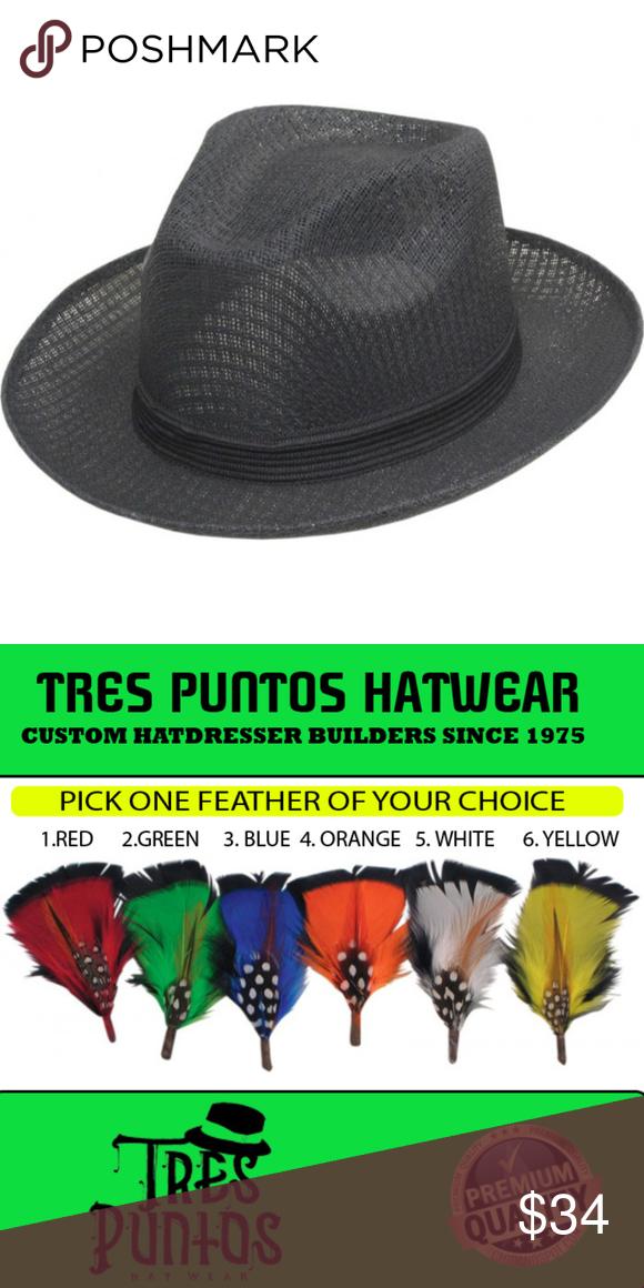 284a4a4287334 Black Pachuco Brim Up fedora derby Style Description Crown Style  Safari  Crown Size  3 1 2