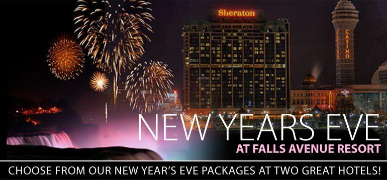 Niagara Falls New Years Eve Packages Niagara Falls Hotel Guide Niagara Falls Hotels Hotel Packages New Years Eve