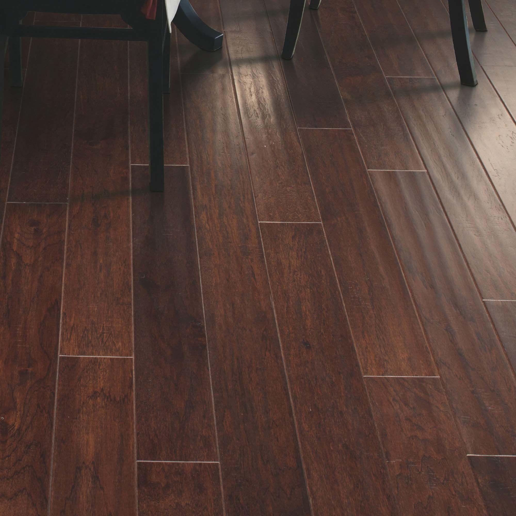 """Easoon Usa 5 Engineered Manchurian Walnut Hardwood: Mohawk Flooring Westland 5"""" Engineered Hickory Hardwood"""