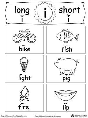 Short And Long Vowel Flashcards I Vowel Worksheets Long Vowel Worksheets Long Vowels Short long vowel worksheets