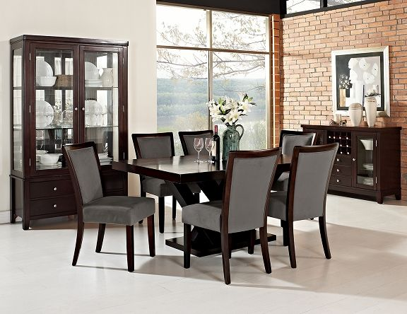 Stupendous Tempest Tango Dining Room Collection Value City Furniture Ibusinesslaw Wood Chair Design Ideas Ibusinesslaworg