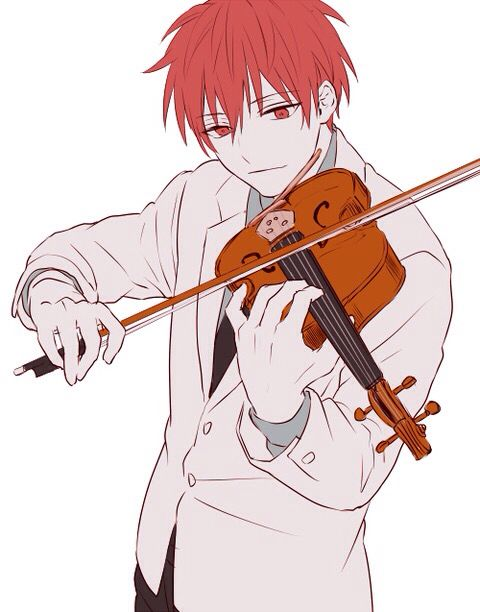 バイオリンを弾く赤司征十郎
