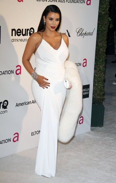 Kim Kardashian Photos Photos - The 2O13 Elton John AIDS Foundation Academy Awards Viewing Party held at The Pacific Design Center in Los Angeles, CA on February 24th, 2013.