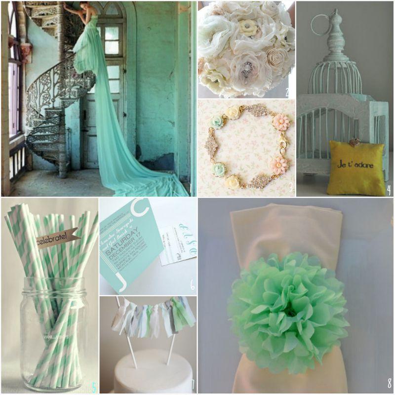 Seafoam Green Wedding Ideas: ETSY ADDICTION - SEAFOAM