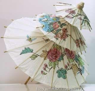 Wedding Decoration Oriental Paper Parasol Umbrella