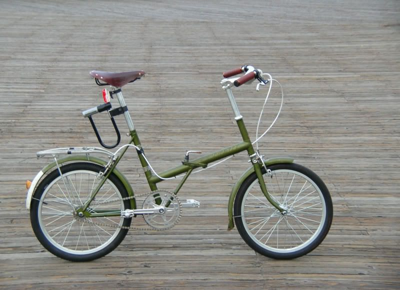 Bicicletta Pieghevole 14 Raleigh.Restored 1969 Raleigh Twenty Bicycles Folding Folding Electric