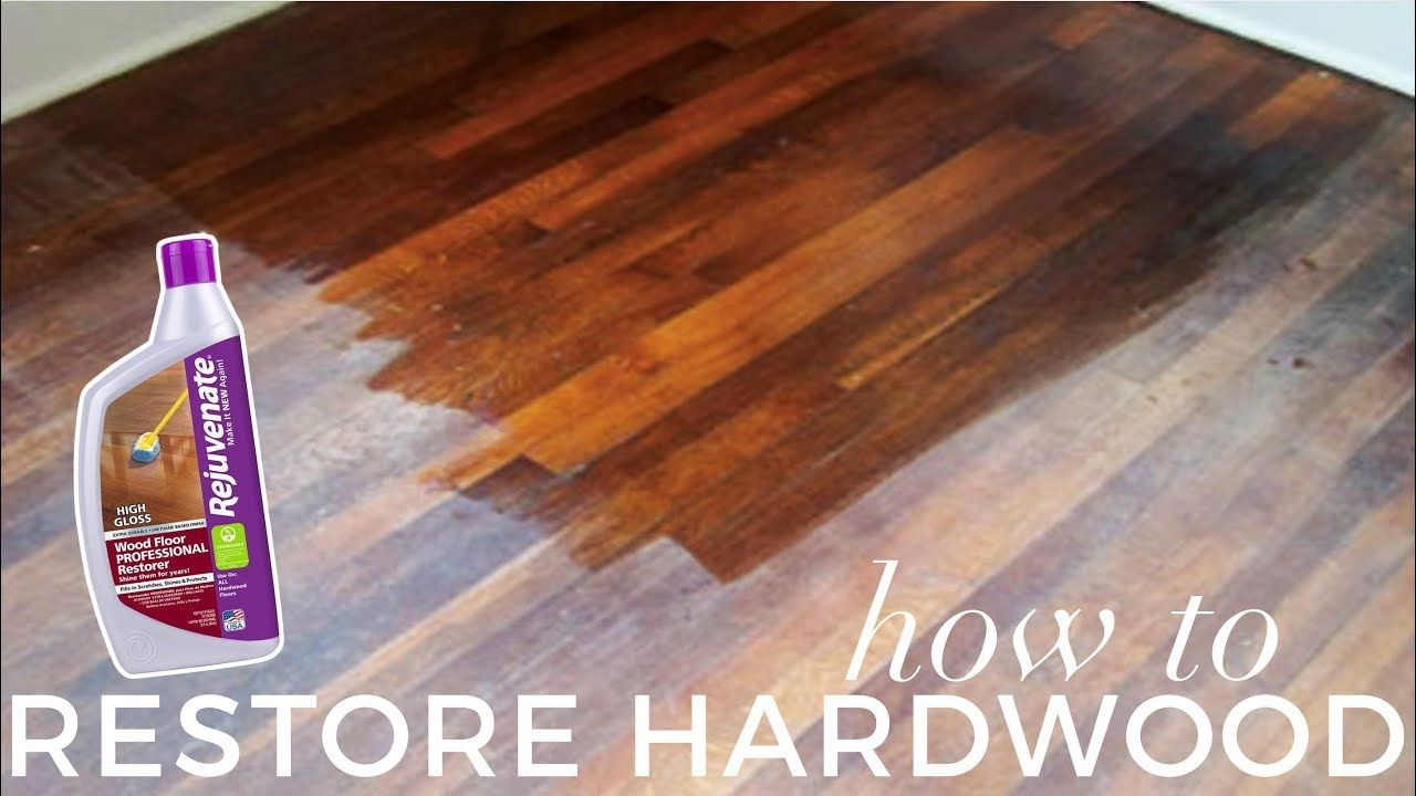 How to Restore Hardwood Floors UNDER 1H BEFORE & AFTER