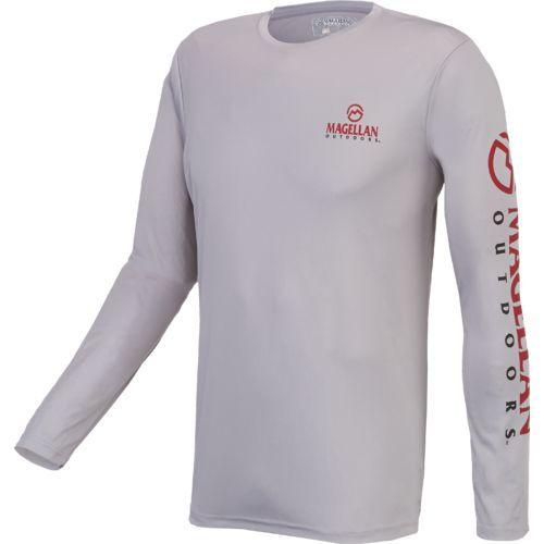 9b99b718ab6 Magellan Outdoors™ Men s Casting Crew Moisture Management Long Sleeve T- shirt