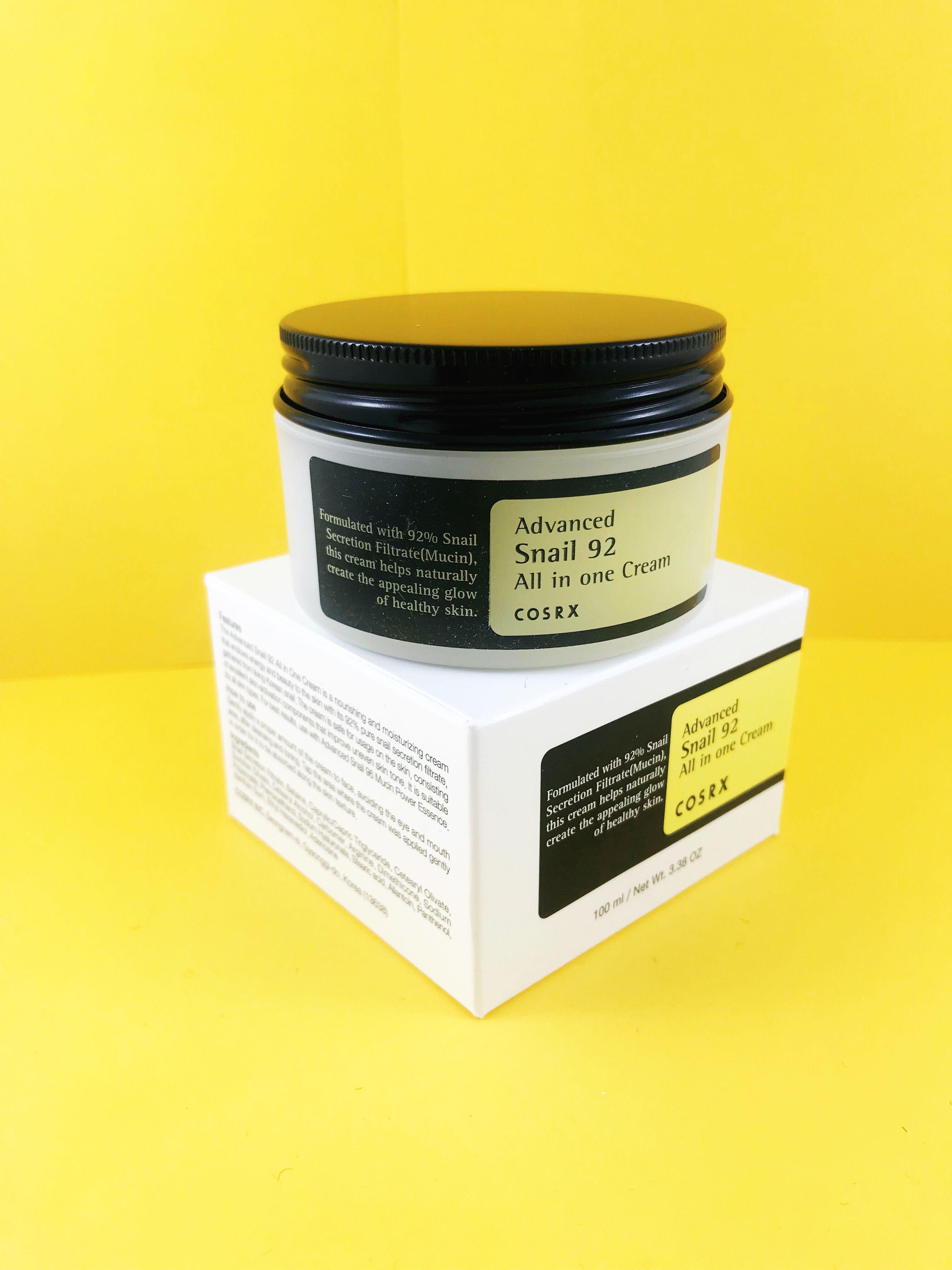 Cosrx Advanced Snail 92 All In One Cream Korean Skincare Secretion Filtrate Moisture Facial 30 Ml