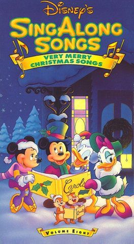 disney sing along songs very merry christmas songs vol 8