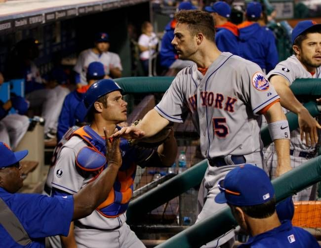 David Wright lifts Mets over Phillies, 5-4, in 14th - NORTHJERSEY.COM #DavidWright, #Mets, #Phillies