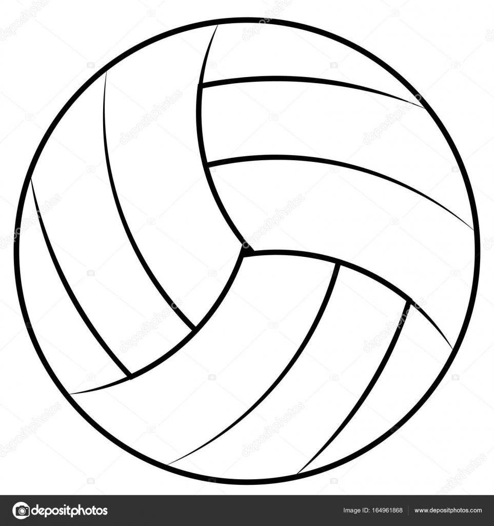 Volleybal Bal Kleurplaat Google Zoeken Volleybal Kleurplaten Bal