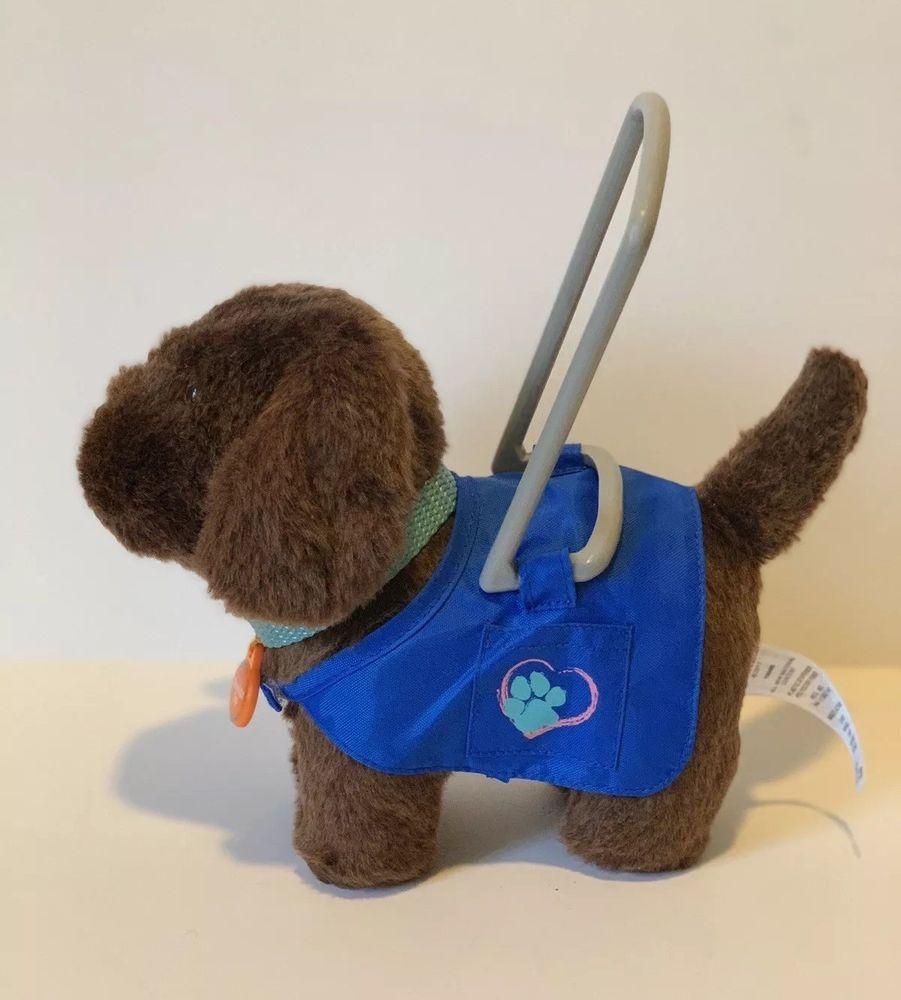 American Girl Doll Plush Service Dog Pet Labrador Retriever