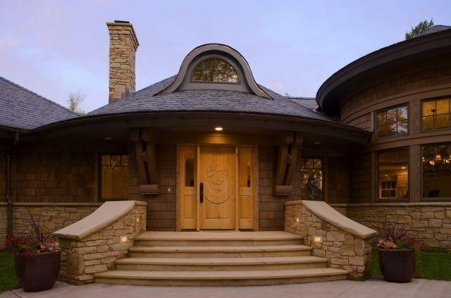 Treppenbeleuchtung Steintreppen Wangen Einbauleuchten Eingang | My ... Ideen Treppenbeleuchtung Aussen